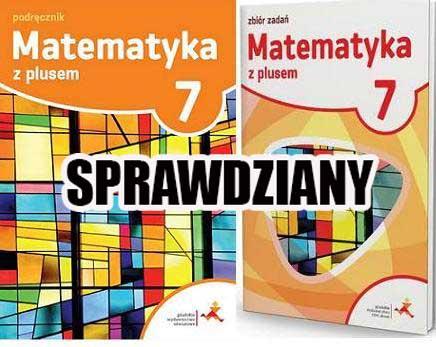 matematyka z plusem klasa 7 sprawdziany