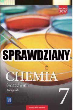 świat chemii klasa 7 sprawdziany